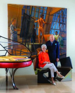 Susie and Ed Elson, art&culture magazine Winter 2019
