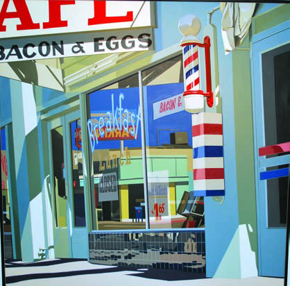 Robert Cottingham, Bacon and Eggs