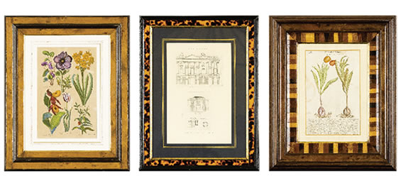 Antique Engravings and Lithographs