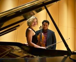 Contrasts Duo: Yasa Poletaeva and Darren Matias