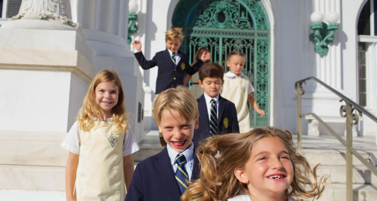 Palm Beach Day Academy Kids at Flagler Museum