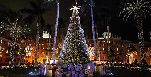"""Light Up Downtown Boca"" Holiday Tree Lighting Kickoff"