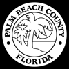 Palm Beach County Seal - white