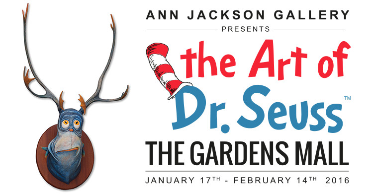 The Art of Dr Seuss - The Gardens Mall