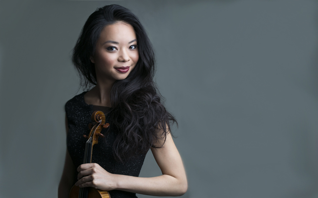Elmar Oliveira International Violin Competition Gold Medalist Sirena Huang, with Robert Koenig