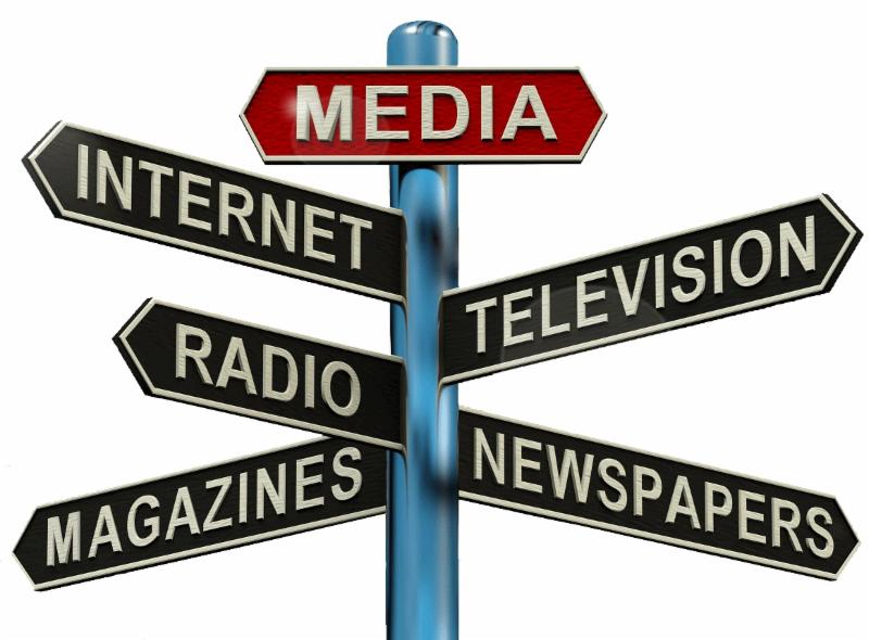 stock photo - media