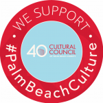 We Support #PalmBeachCulture window cling